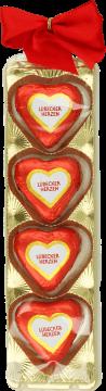 Exquisite, Lubeckie marcepanki w polewie z czekolady deserowej