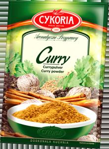 Cykoria, Curry