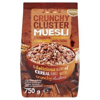 Tesco Musli chrupkie z kawałkami czekolady