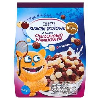 Tesco Kuleczki zbożowe o smaku czekoladowo-waniliowym