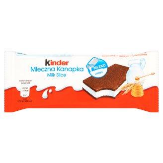 Kinder Mleczna Kanapka Biszkopt z mlecznym nadzieniem