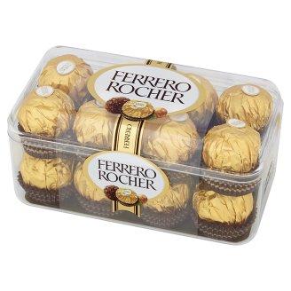 Ferrero Rocher Chrupiący smakołyk z kremowym nadzieniem i orzechem laskowym w czekoladzie