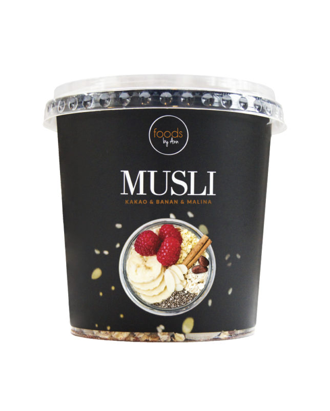 Musli Kakao & Banan & Malina