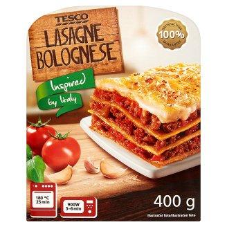 Tesco Lasagne z sosem pomidorowym z mięsem wieprzowym