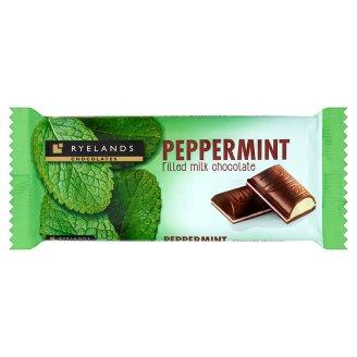Ryelands Chocolates Czekolada mleczna z nadzieniem o smaku miętowym