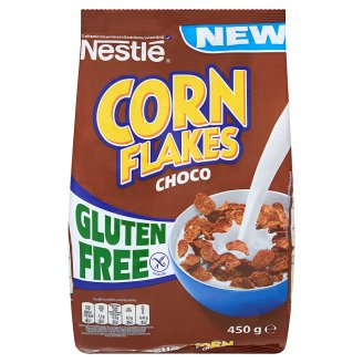 Nestlé Corn Flakes Choco Płatki śniadaniowe o smaku czekoladowym