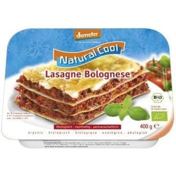 NATURAL COOL Lasagne Bolognese mrożona BIO