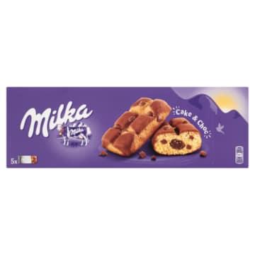 MILKA Cake&Choc Ciastka biszkoptowe z kawałkami czekolady