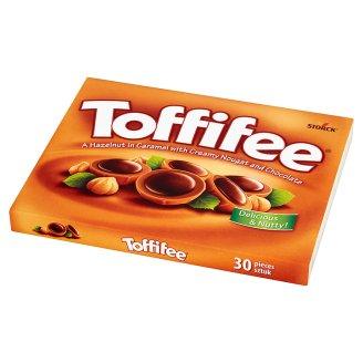 Toffifee Orzech laskowy w karmelu kremie orzechowym i czekoladzie