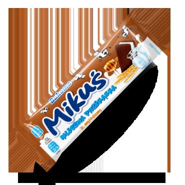 Mikuś – mleczna przekąska z miodem