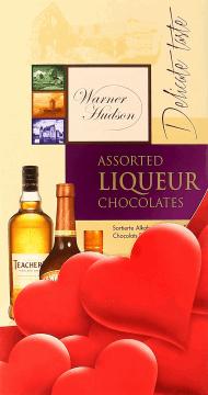 Warner Hudson, ekskluzywne pralinki z alkoholem