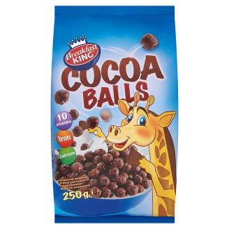 Breakfast King Zbożowe kuleczki kakaowe