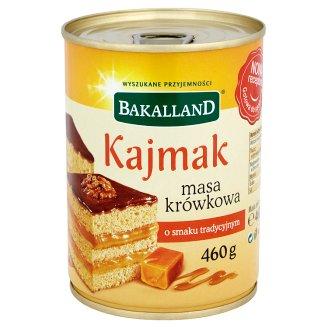 Bakalland Kajmak masa krówkowa o smaku tradycyjnym