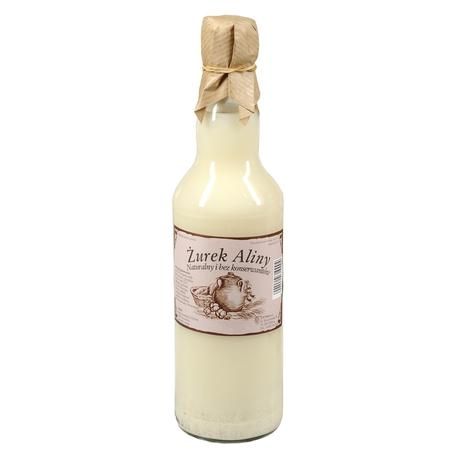 Żurek Aliny - Żur Aliny w szklanej butelce