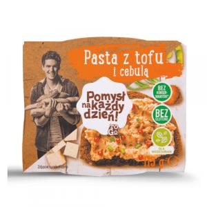 Pasta z tofu i cebulą