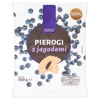 Tesco Pierogi z jagodami