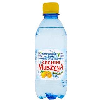 Muszyna Cechini Napój gazowany na bazie naturalnej wody mineralnej cytrynowy