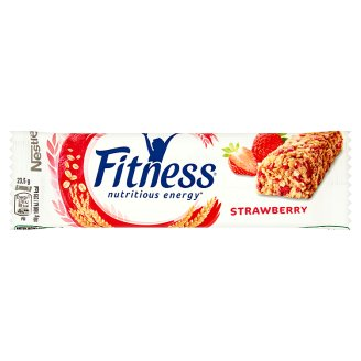 Nestlé Fitness Strawberry Batonik zbożowy