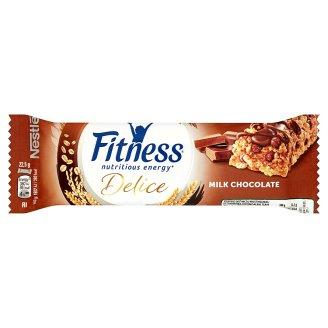 Nestlé Fitness Delice Milk Chocolate Batonik zbożowy