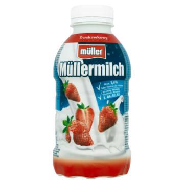 MULLER Mleko truskawkowe