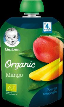 Gerber, Organic, mango po 4. miesiącu