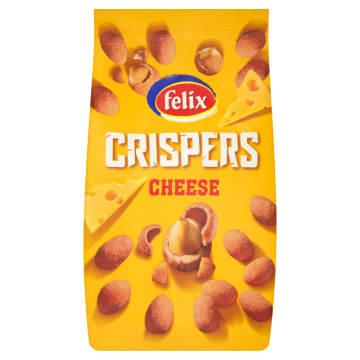 FELIX Crispers Orzeszki ziemne w chrupkiej skorupce o smaku serowym