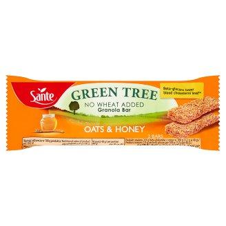 Sante Green Tree Chrupiący baton granola owsiany z miodem
