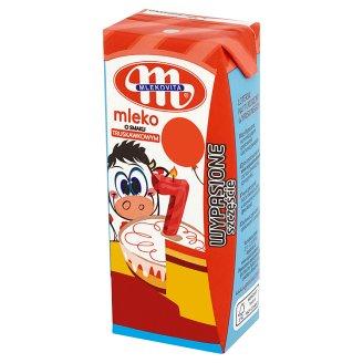 Mlekovita Wypasione Mleko o smaku truskawkowym
