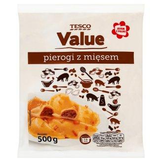 Tesco Value Pierogi z mięsem