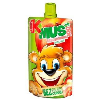 Kubuś Mus 100% brzoskwinia jabłko banan