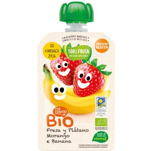 Tetes Mus Bio Truskawka Banan Deserek Dla Dzieci 4+