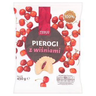 Tesco Pierogi z wiśniami