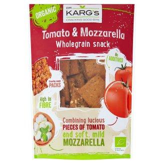Dr. Karg's Ekologiczne pieczywo chrupkie z serem mozzarella oraz suszonymi pomidorami