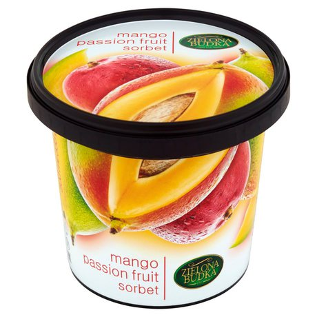 Zielona Budka - Lody sorbet mango marakuja