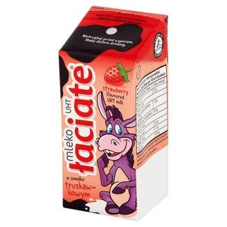 Łaciate Mleko UHT o smaku truskawkowym