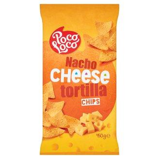 Poco Loco Chipsy kukurydziane o smaku sera