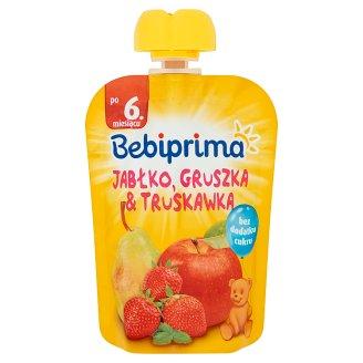 Bebiprima Jabłko gruszka & truskawka Mus owocowy po 6. miesiącu