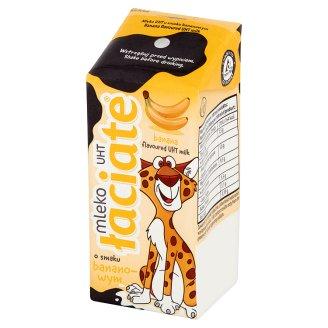 Łaciate Mleko UHT o smaku bananowym