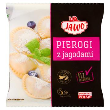 JAWO Pierogi z jagodami mrożone