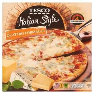 Tesco Italian Style Quattro Formaggi Pizza