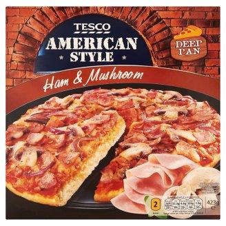 Tesco American Style Ham & Mushroom Pizza