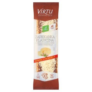 Virtu Zapiekanka klasyczna z pieczarkami smażonymi i serem mozzarella