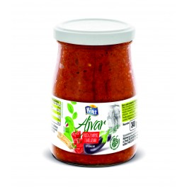 Ajvar - pasta z papryki i bakłażana