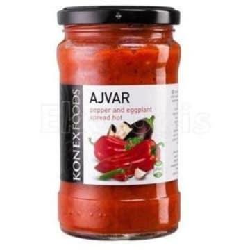 KONEX FOODS Ajvar Pasta paprykowo-bakłażanowa pikantna