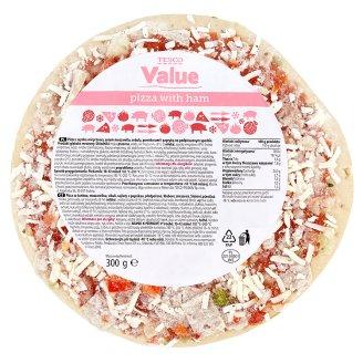 Tesco Value Pizza z szynką