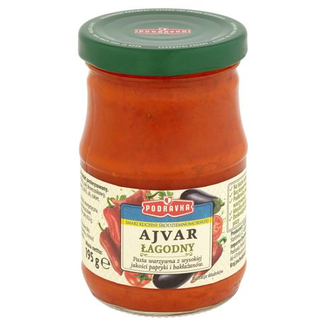 Podravka - Ajvar łagodny pasta warzywna