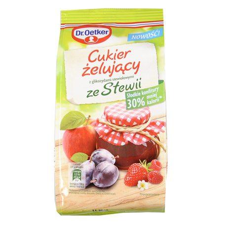 Dr. Oetker - Cukier żelujący z glikozydami stewiolowymi ze Stewii