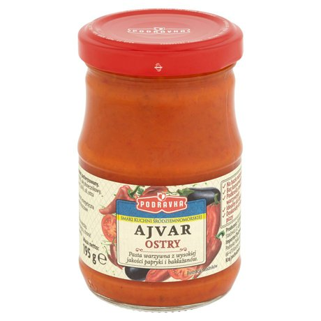 Podravka - Ajvar ostry pasta warzywna pomidory z chili