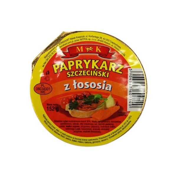 MK Paprykarz szczeciński z łososia