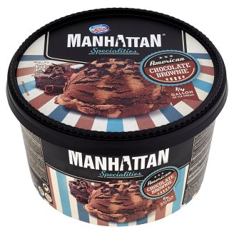Manhattan Specialities Lody czekoladowe z płatkami czekoladowymi i lody o smaku ciasteczkowym